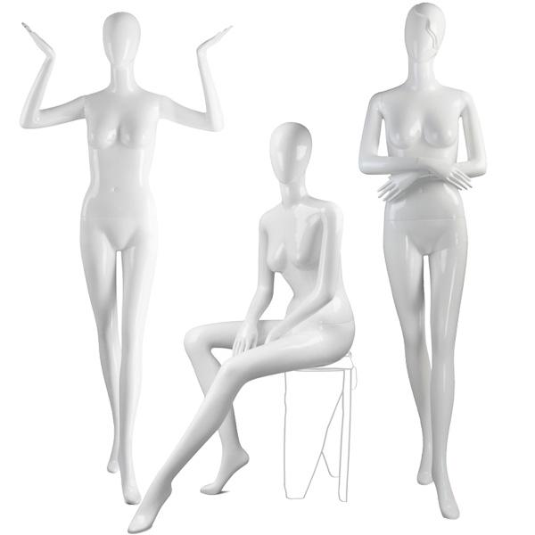 180 Glossy Female Mannequin