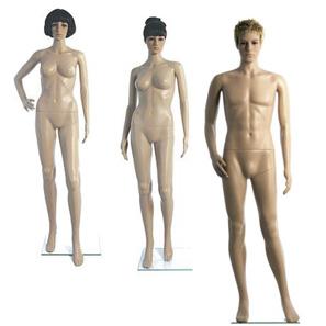 Plastic Fleshtone Mannequins
