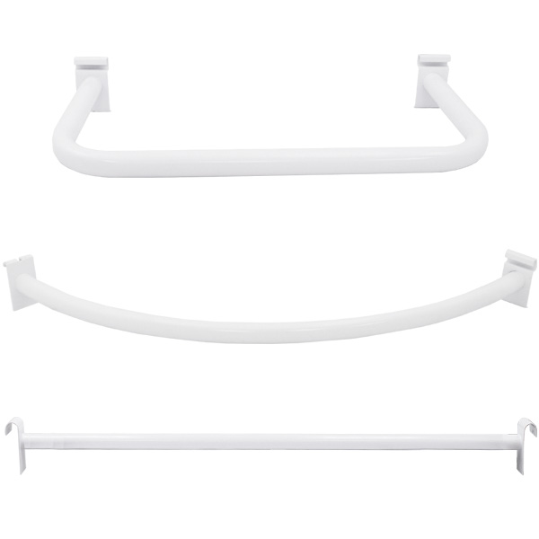 White Grid Hangrails