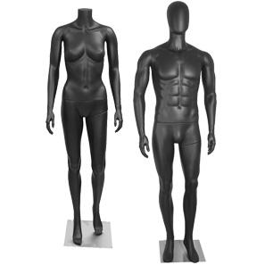 Matte Black Mannequins