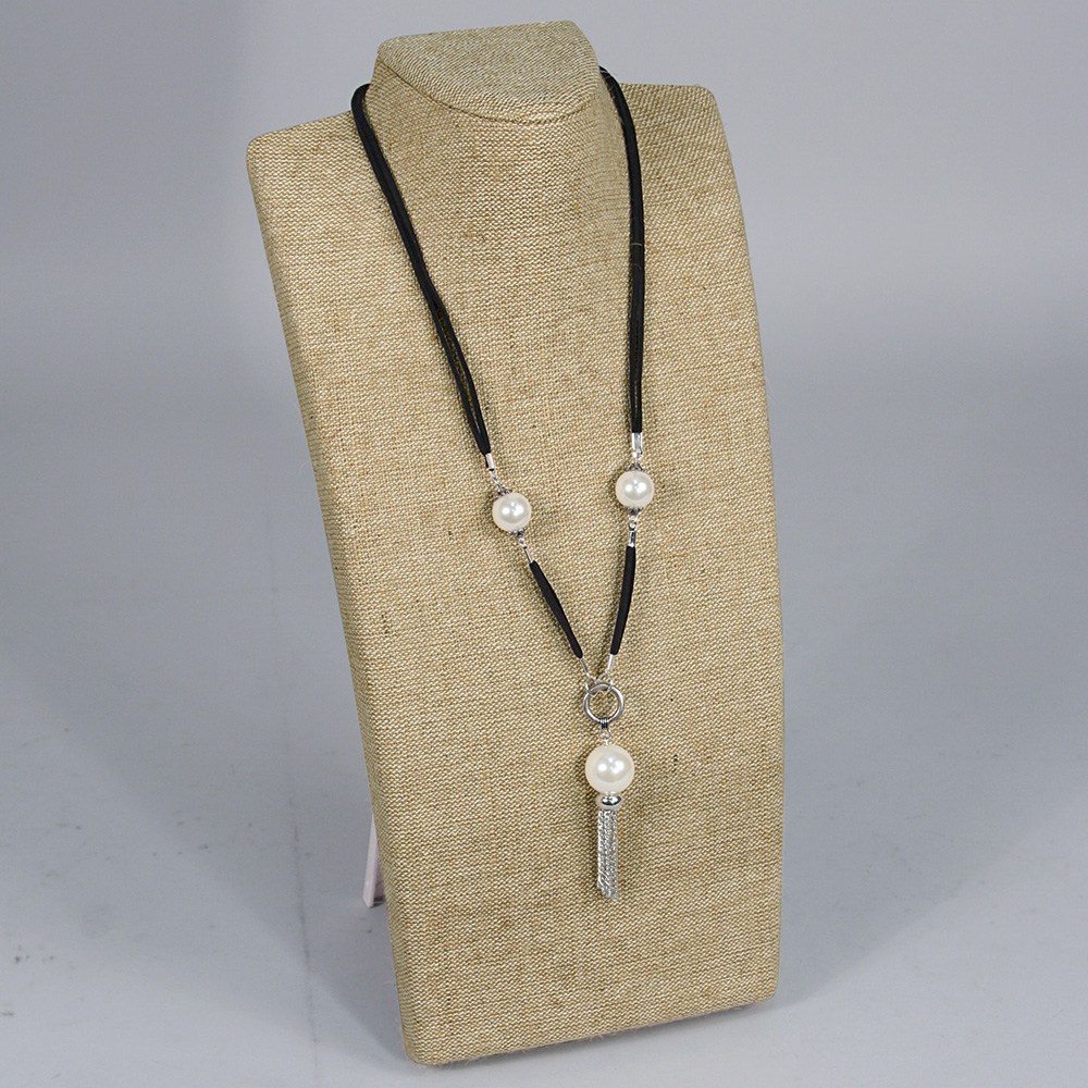 Burlap Necklace