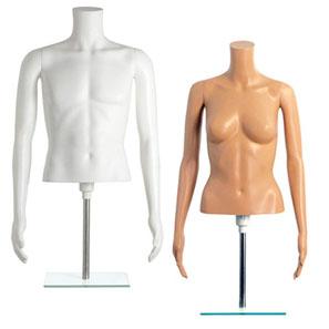 Tabletop Mannequins