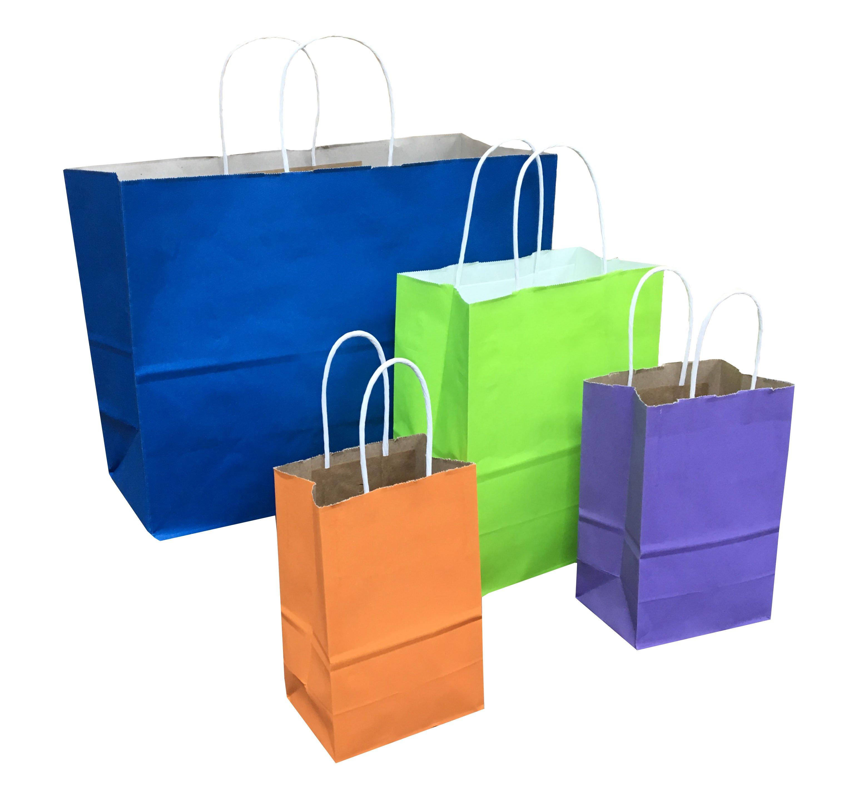 Bright  Color Paper Bags