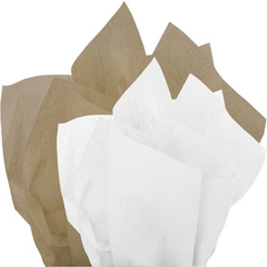 Kraft & White Tissue