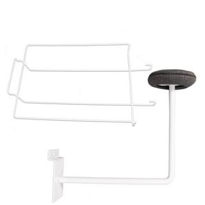 Slatwall Hat Displays-White