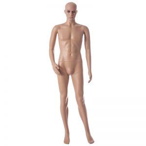 Plastic Skintone Male Mannequin
