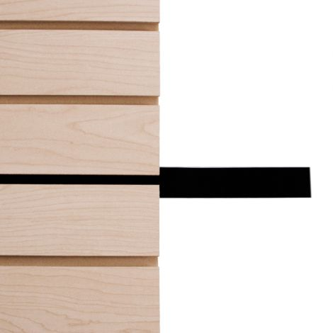 Slatwall Tape Inserts-Black