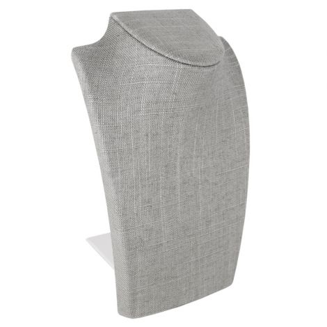 """8 1/4"""" Bust- Gray Linen"""