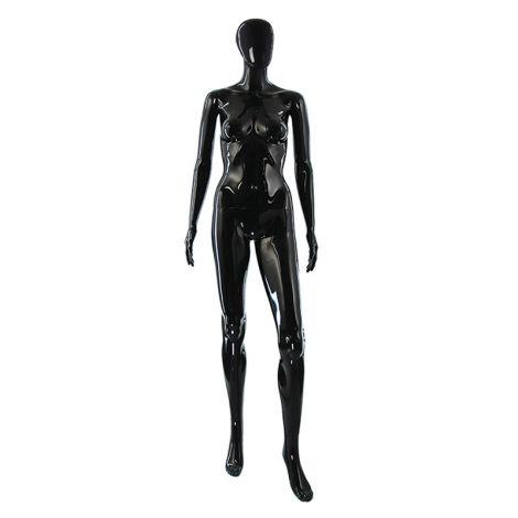 Gloss Female Mannequin Black