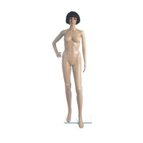 Female Plastic Mannequin Fleshtone F9
