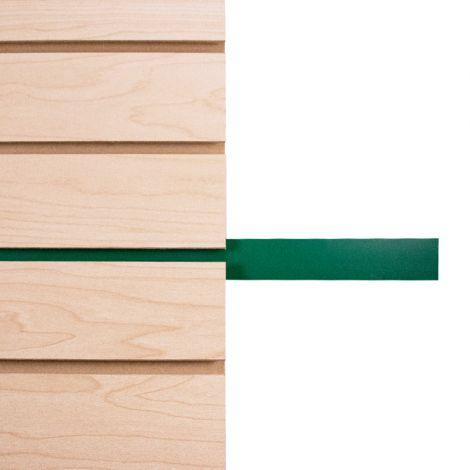 Slatwall Tape Inserts- Green