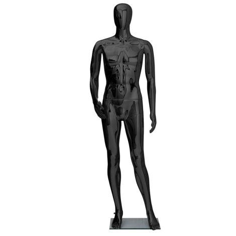 Gloss Male Mannequin- Black