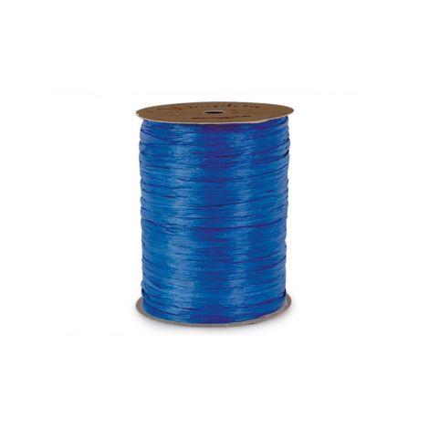 Matte Blue Cobalt Raffia