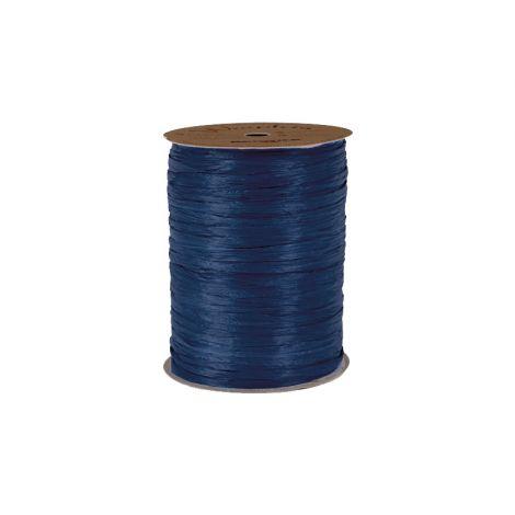 Matte Navy Blue Raffia