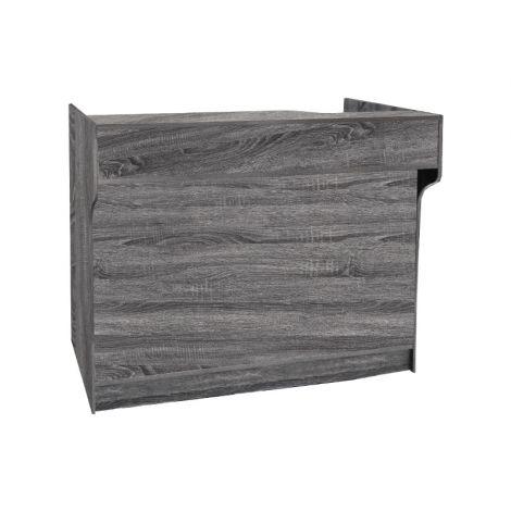 4ft Rustic Gray Ledgetop Counter