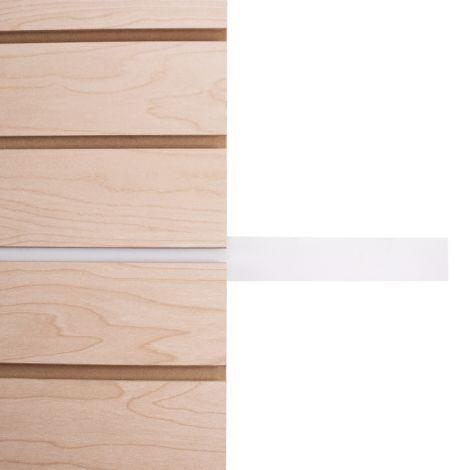 Slatwall Tape Insert-White