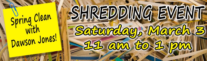 Shredding Day
