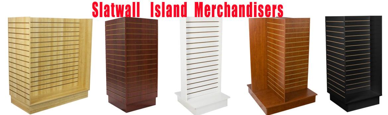 Slatwall Island Merchandisers